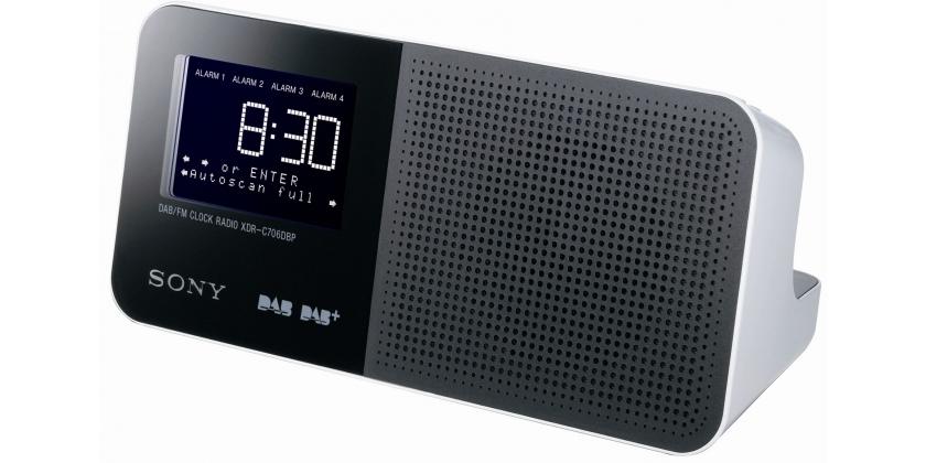 Sony DAB+ Uhrenradio XDR-C706DBP